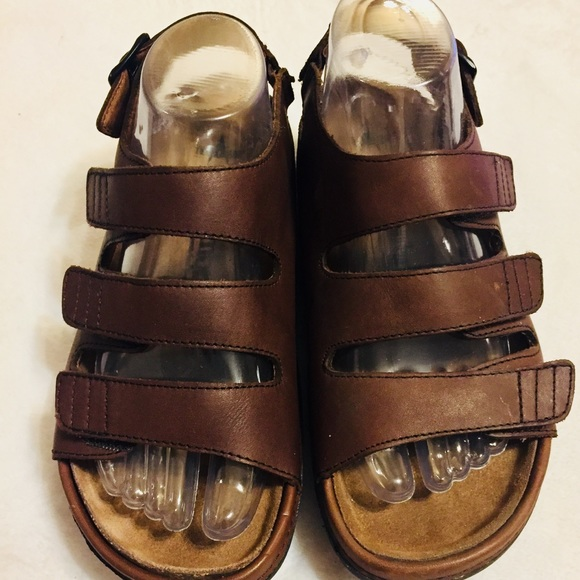 c07c0963c6c622 Cambrian Shoes - Cambrian (The original Cork sole) Leather Sandal